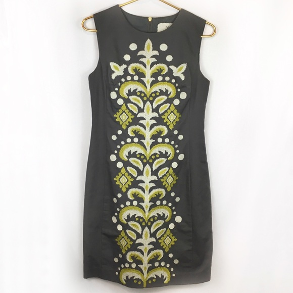 Anthropologie Dresses & Skirts - Anthropologie Tabitha Embroidered Pencil Dress